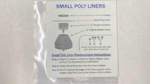 Small Polyliners Bulk Package 50-1″